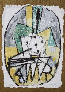 """Marcel Iancu, """"Hommage to Michel Seuphor"""" (1960)"""