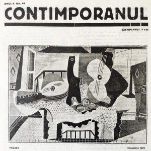 Contimporanul, nr. 64, coperta