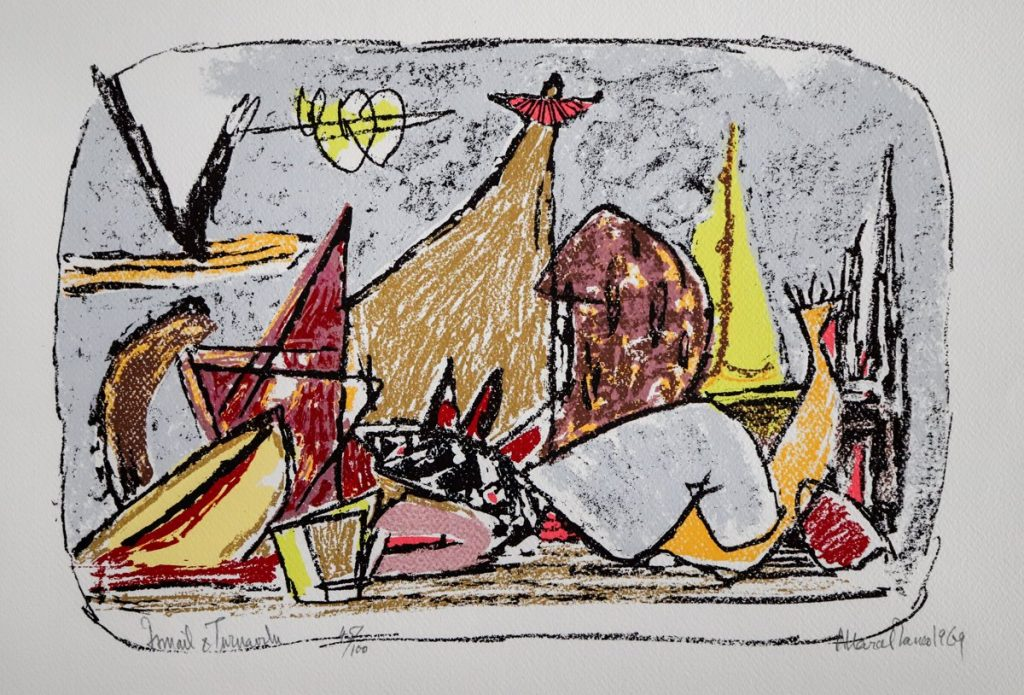 Marcel Iancu - Ten Original Serigraphs - Ismail Et Tournavite