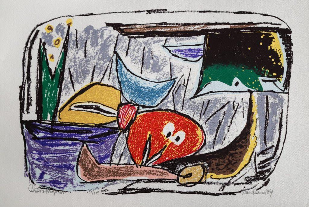 Marcel Iancu - Ten Original Serigraphs - Cotadi & Dragomir