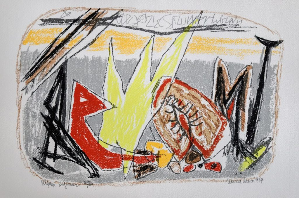 Marcel Iancu - Ten Original Serigraphs - Algazi Et Grumer