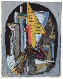 "Marcel Iancu, ""EUPHORIE DADA 1917"" (serigrafie)"