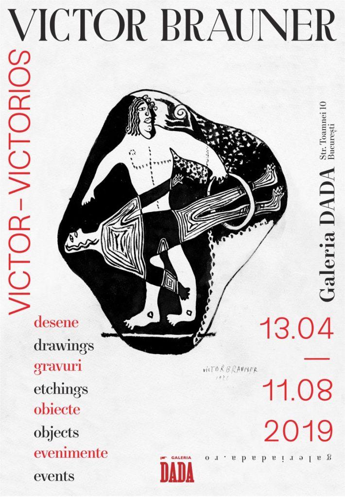 afiș Victor-Victorios (Victor Brauner), Galeria DADA